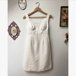 Lily Pulitzer • Vintage White Sheath Dress